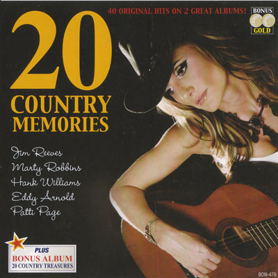 20 COUNTRY MEMORIES