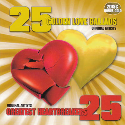 25 GOLDEN LOVE BALLADS