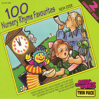 100 NURSERY RHYME FAVOURITES