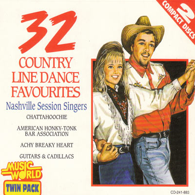 32 COUNTRY LINE DANCE FAVOURITES