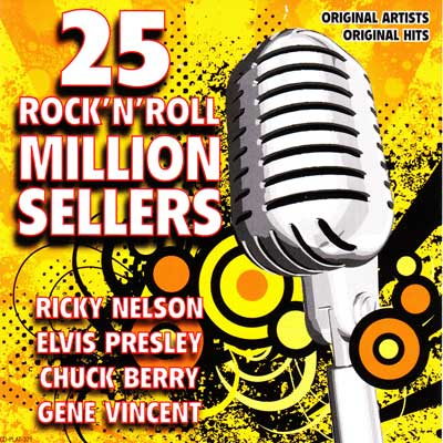 25 ROCK 'N' ROLL MILLION SELLERS