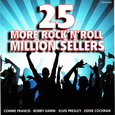25 MORE ROCK 'N' ROLL MILLION SELLERS