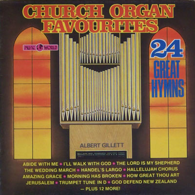 CHURCH ORGAN FAVOURITES