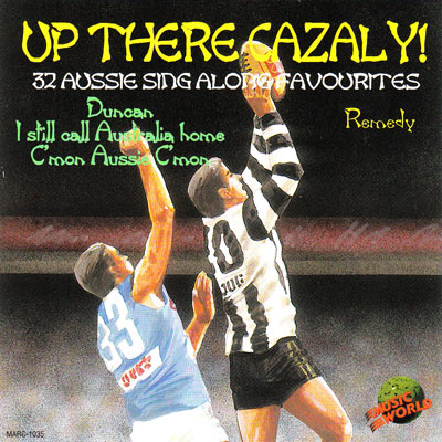 UP THERE CAZALY!