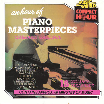 AN HOUR OF PIANO MASTERPIECES