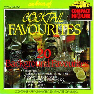 AN HOUR OF COCKTAIL FAVOURITES