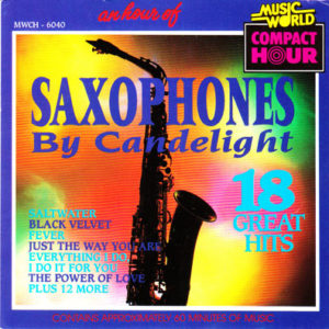 SAXOPHONES BY CANDLELIGHT